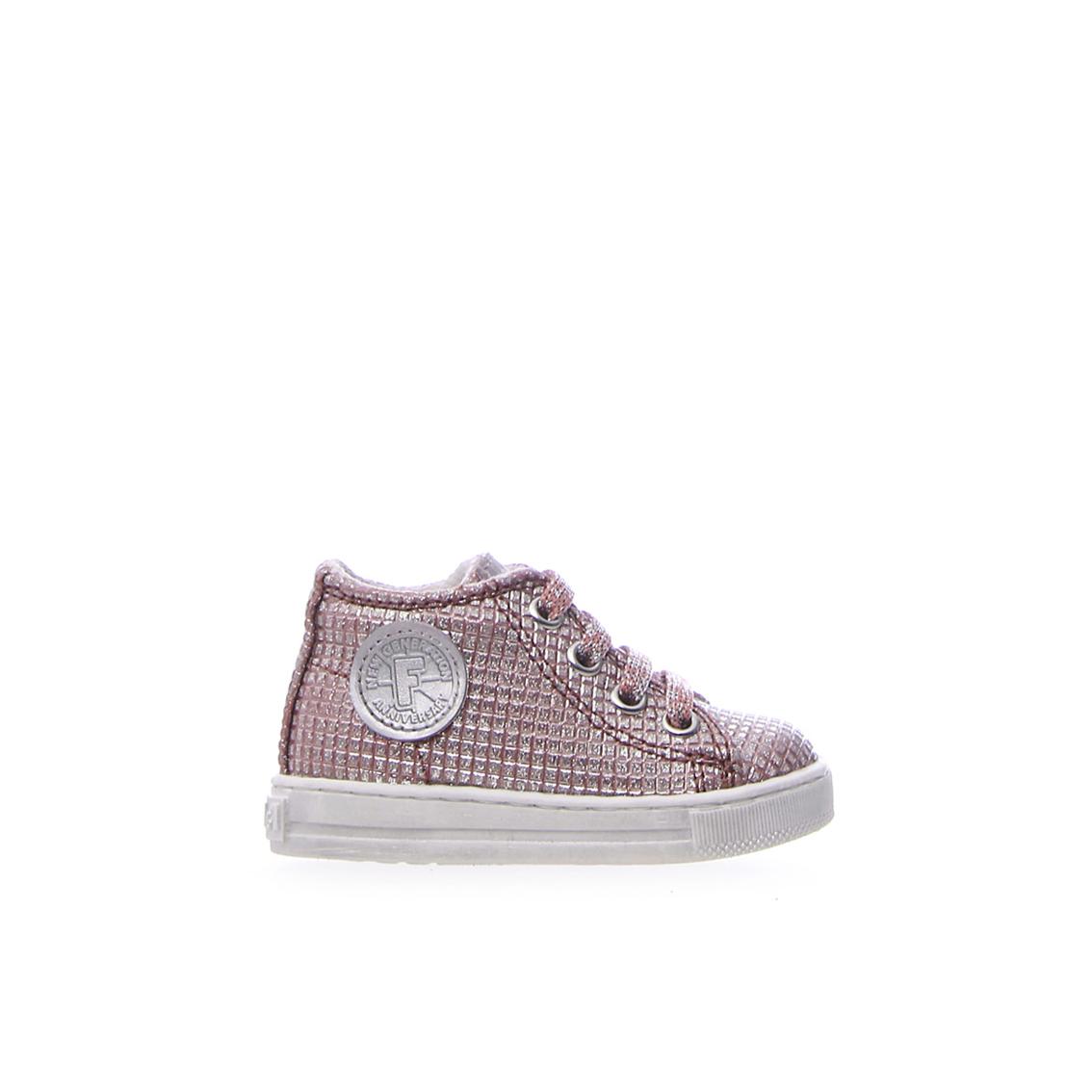 Sneaker rose gold quadrettata Falcotto