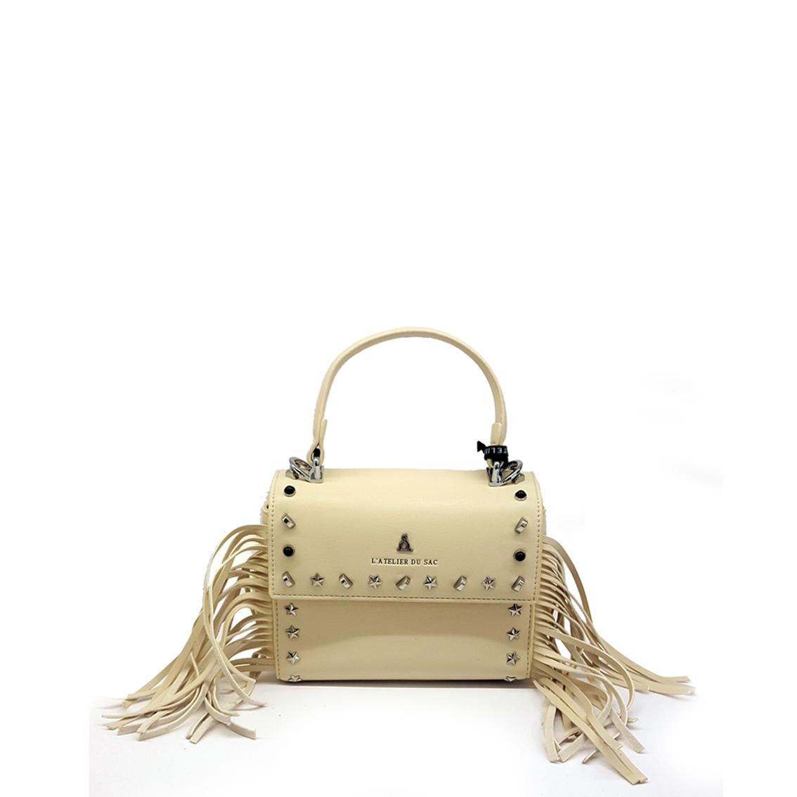 Minibag panna con frange PashBag