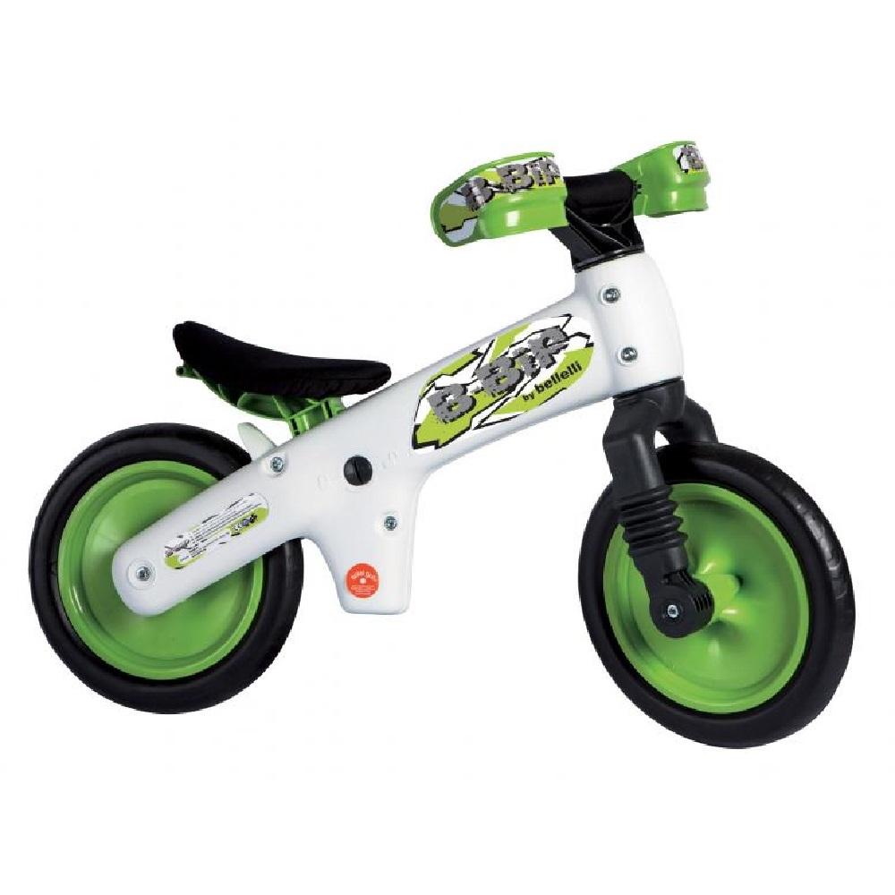 Bicicletta pedagogica B-Bip white green