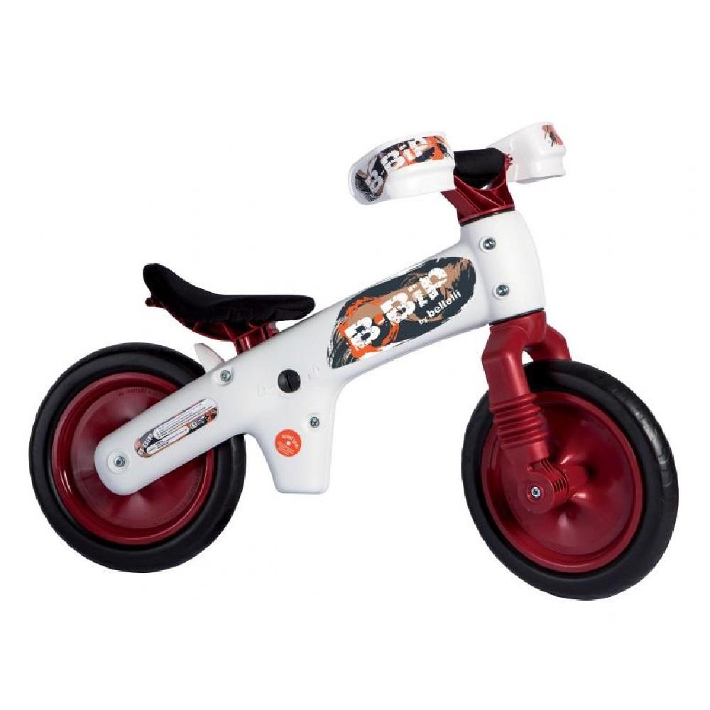 Bicicletta pedagogica B-Bip white red