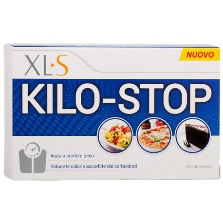 XLS KILO-STOP 28 COMPRESSE AIUTA A PERDERE PESO, RIDUCE LE CALORIE ASSORBITE DAI CARBOIDRATI.