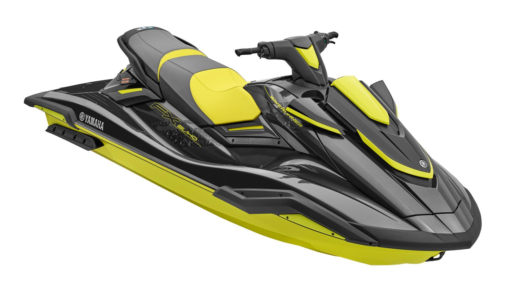 Moto d'acqua Y WR Fx SVHO 2021 nera/gialla - SeaDoo