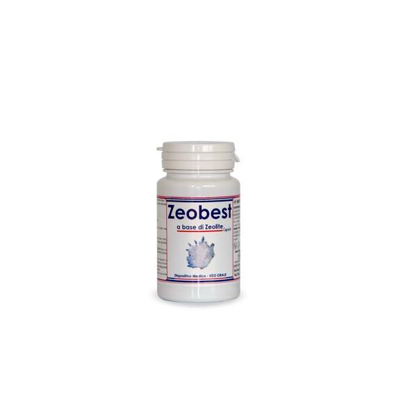 Isola Verde Healthcare, Zeobest - Zeolite 60 cps 32.4 mg