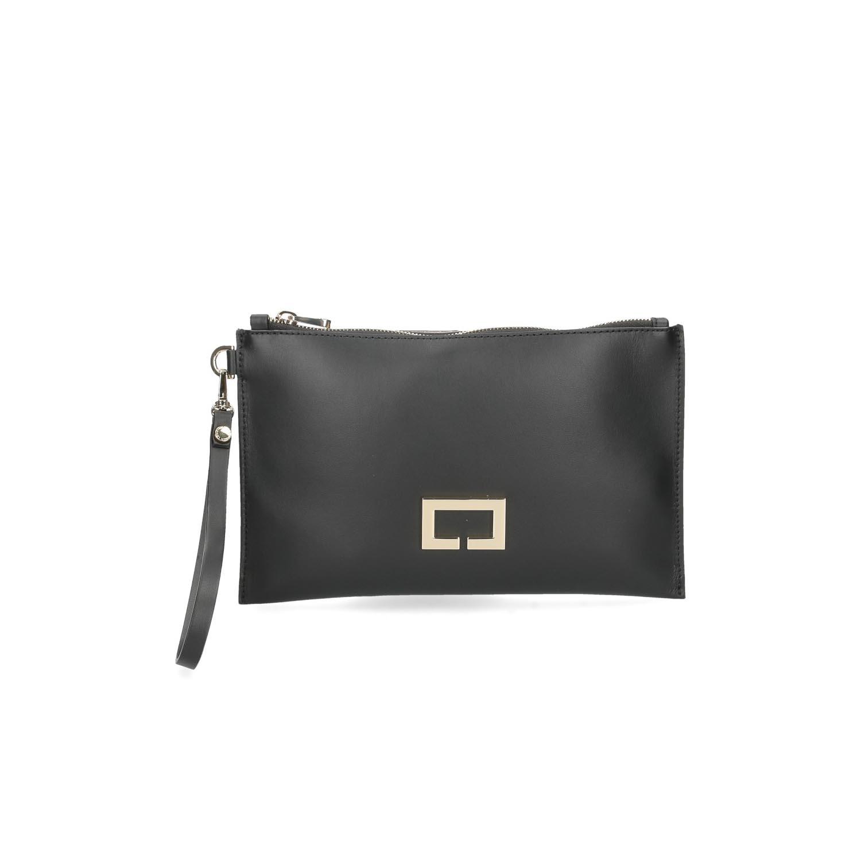 Loristella borsa pochette Janis 2466 pelle nera