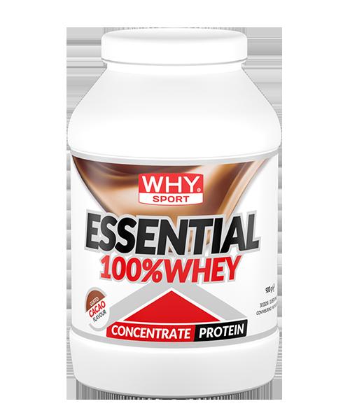 Why Sport & Nutritions, Whysport Essent 100% Whey Vaniglia 900 gr