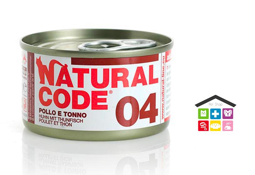 Natural code 04 POLLO E TONNO 0,85g