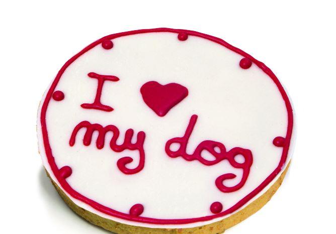 TORTA DI COMPLEANNO I LOVE MY DOG LEOPET 140GR