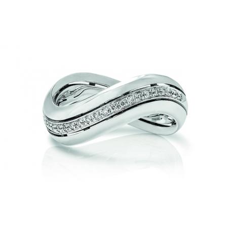 DONNAORO-anello oro e diamanti