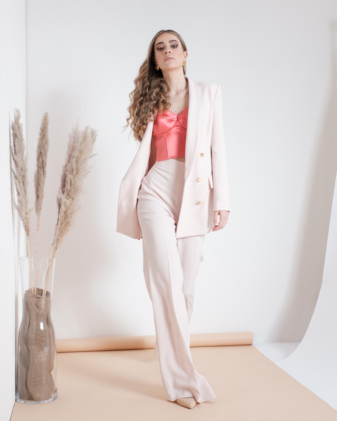 Pantalone In Crêpe Zampa Elisabetta Franchi SS21
