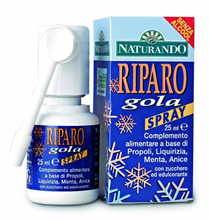 Naturando, Riparo Gola Spray 25 ml