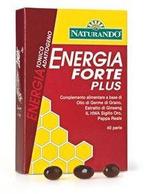 Naturando, Energia Forte Plus 40 perle