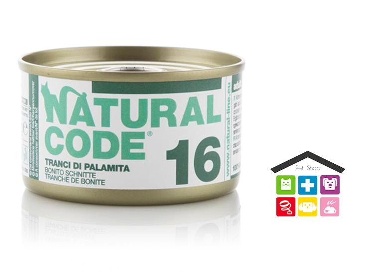 Natural code 16 TRANCI DI PALAMITA 0,85g
