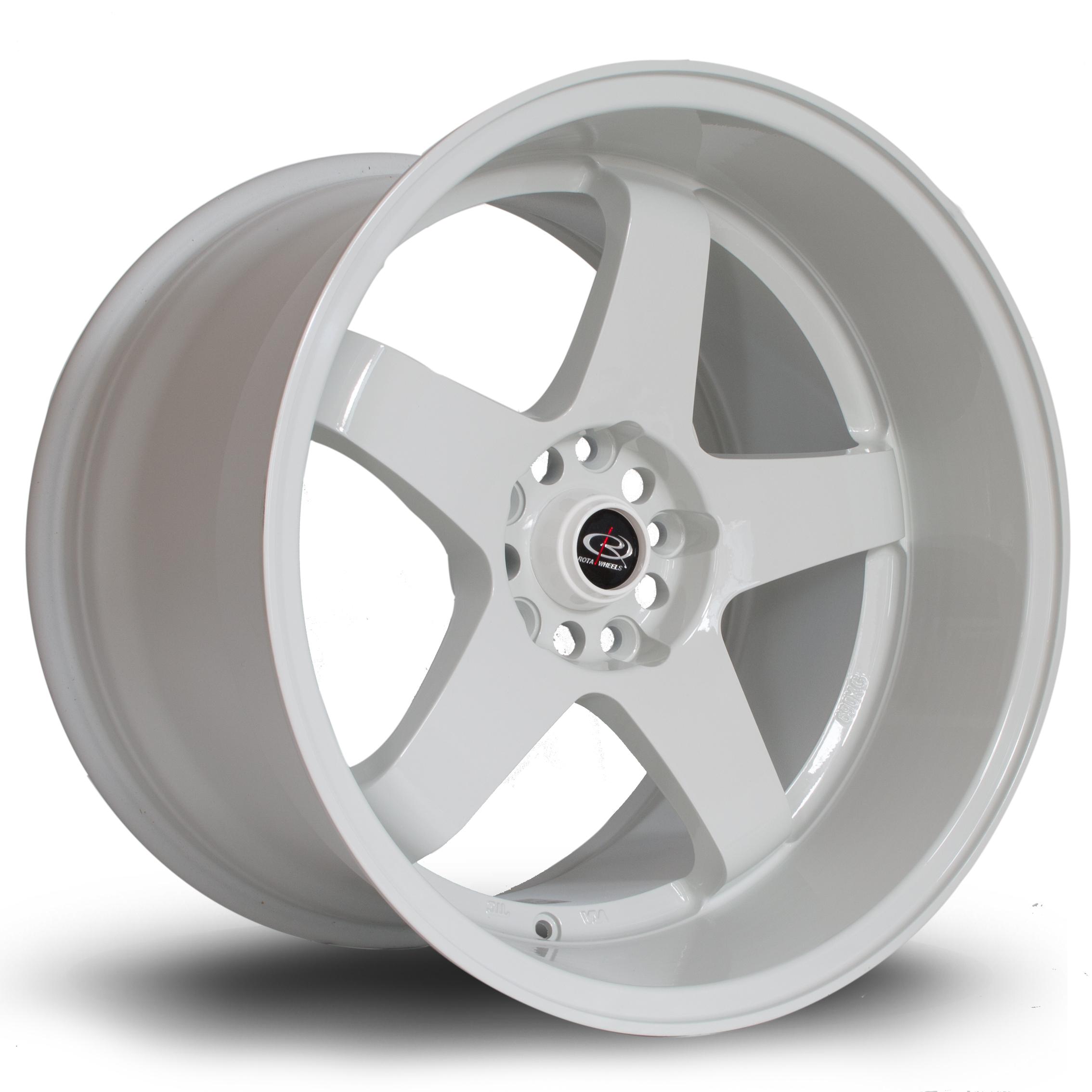 Cerchi in lega  Rota  GTR-D  18''  Width 12   5x114  ET 20  CB 73    White