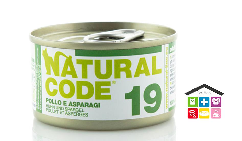 Natural code 19 POLLO E ASPARAGI 0,85g