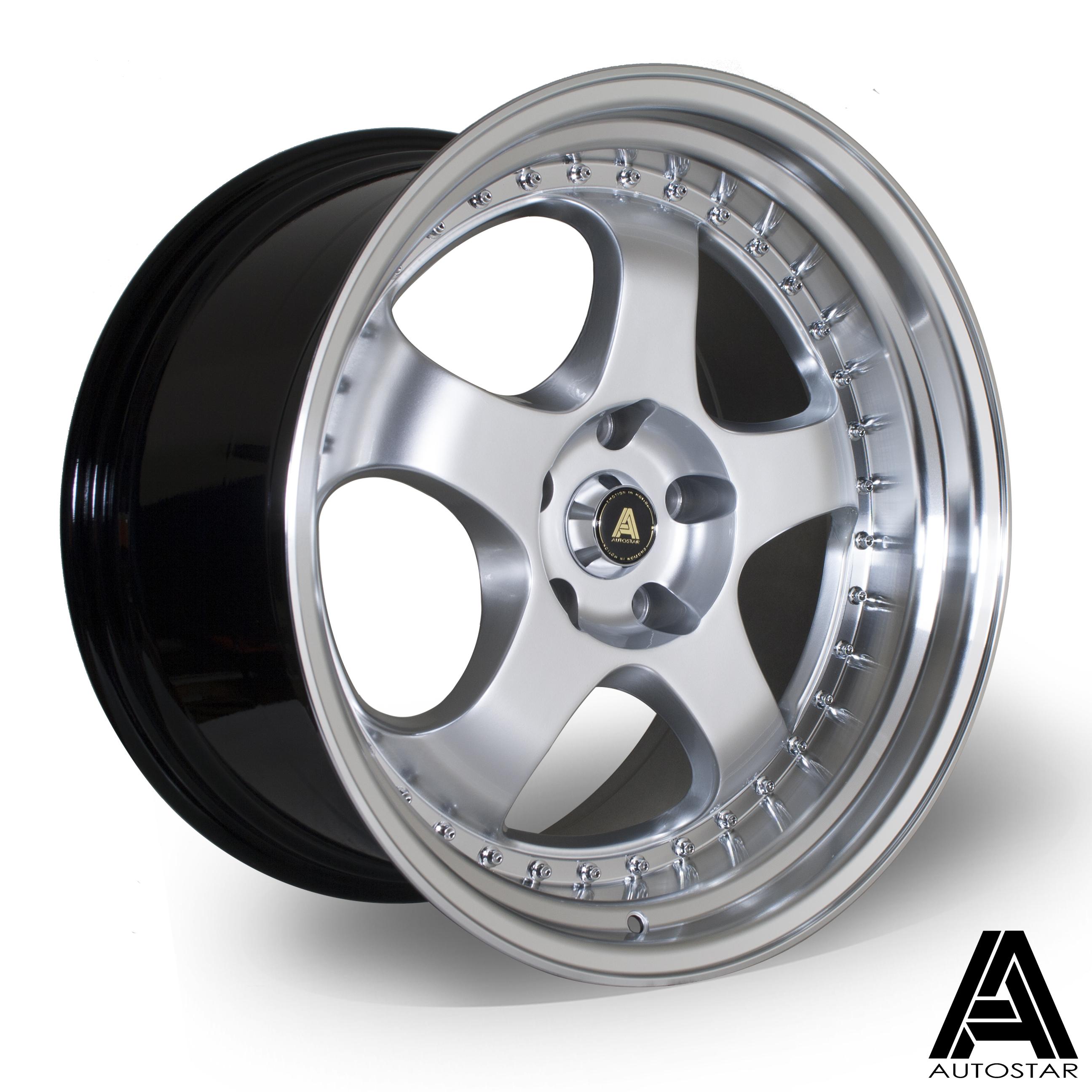 Cerchi in lega  Autostar  GT5  19''  Width 10.5   5x114  ET 22  CB 73,1    RLHSilver
