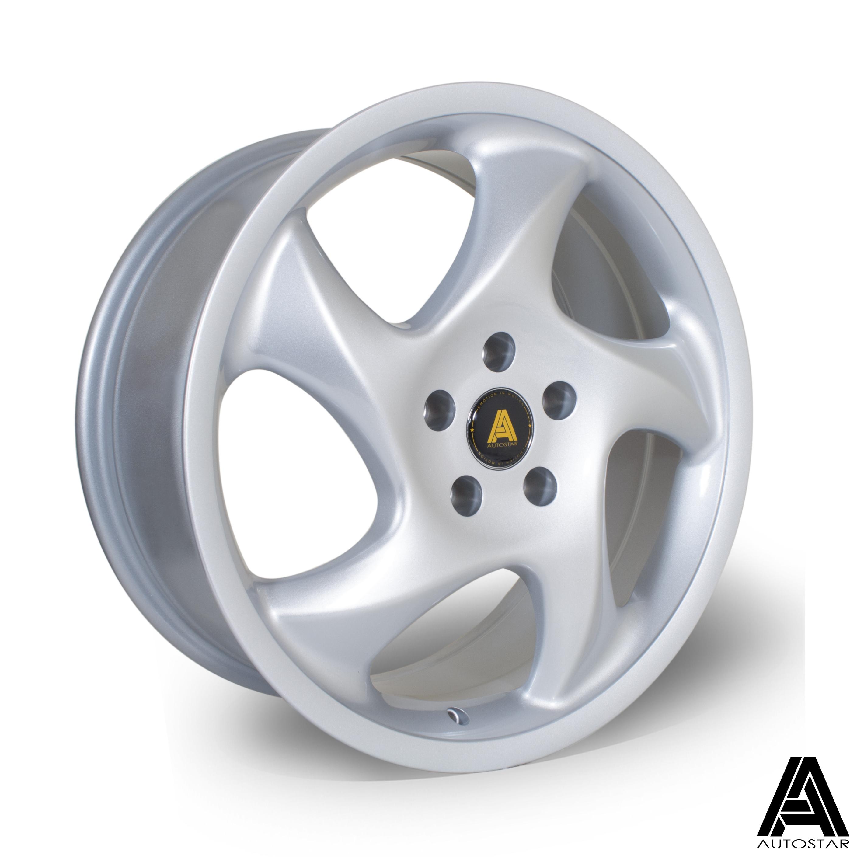 Cerchi in lega  Autostar  Twist  18''  Width 8   5x112  ET 45  CB 73,1    Silver