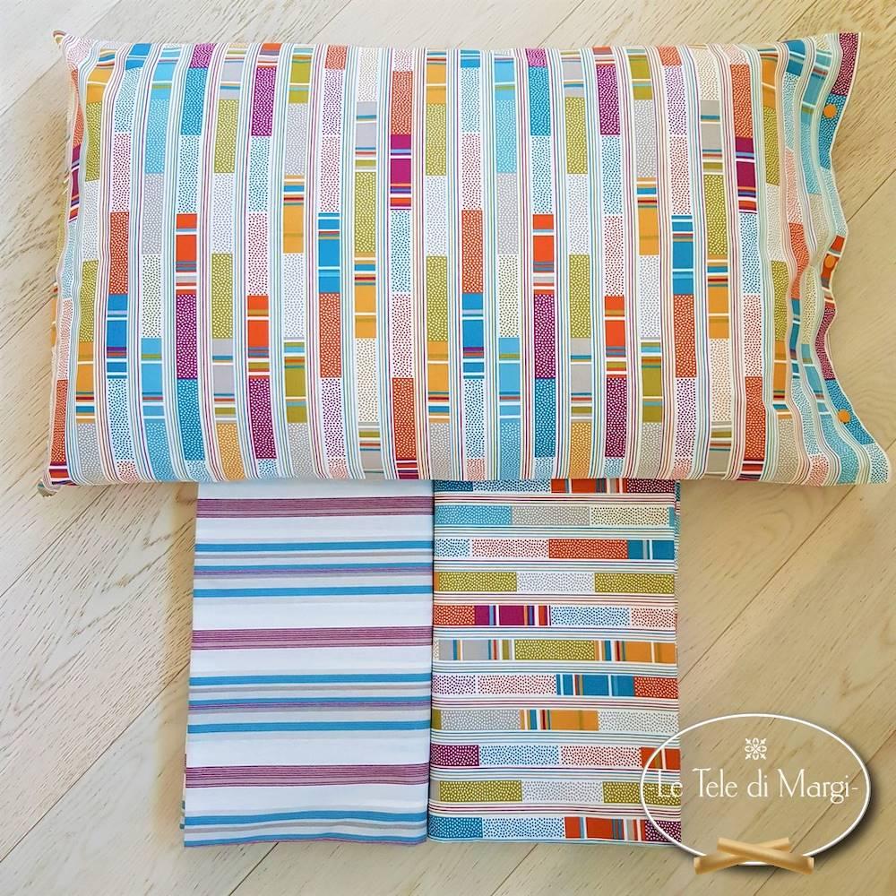 Sacco piuminoStecche multicolor