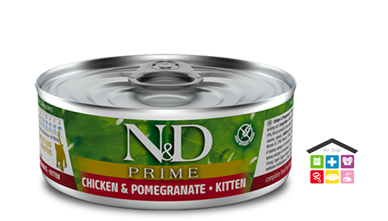 Farmina n&d gatto CHICKEN & POMEGRANATE KITTEN WET FOOD 0,80g