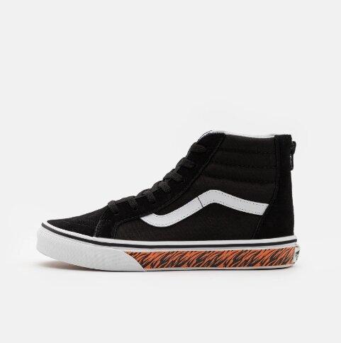 Vans Sk8-Hi Zip Black