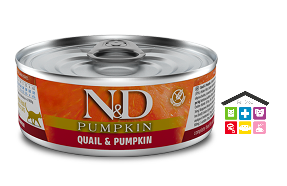 Farmina n&d gatto QUAIL & PUMPKIN WET FOOD 0,80g