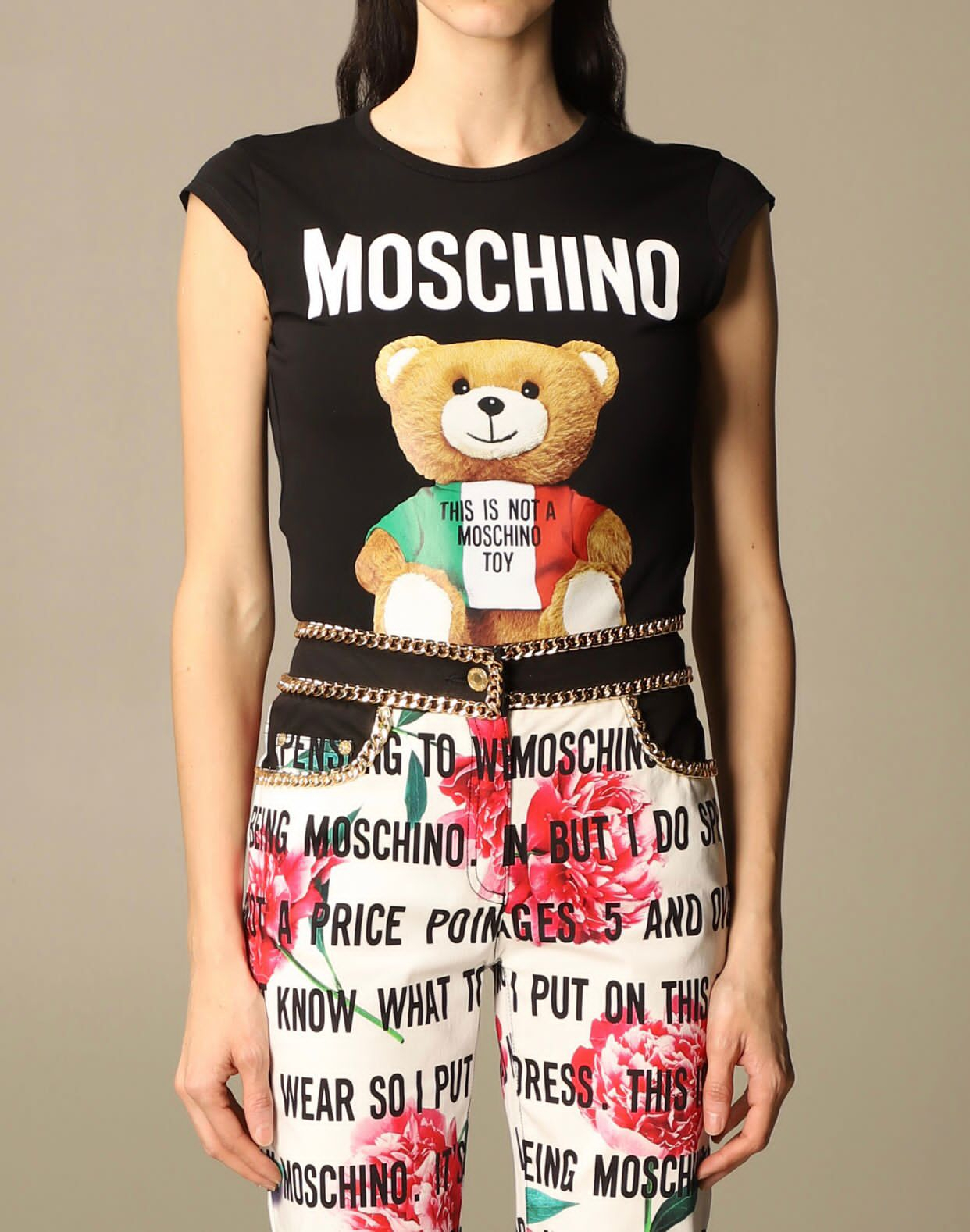 T- shirt Moschino couture