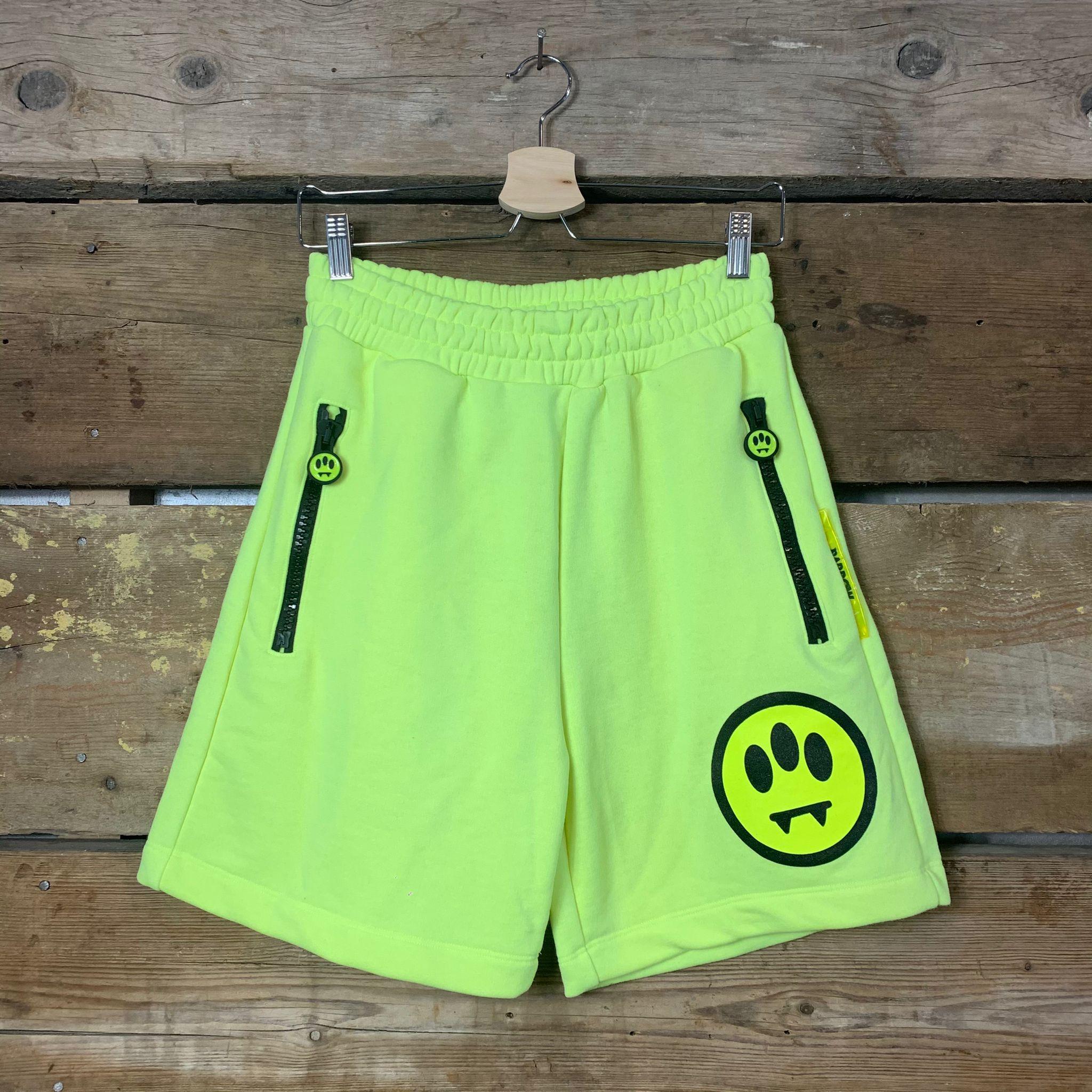 Pantaloncino Barrow Sweat Short Unisex Giallo Fluo