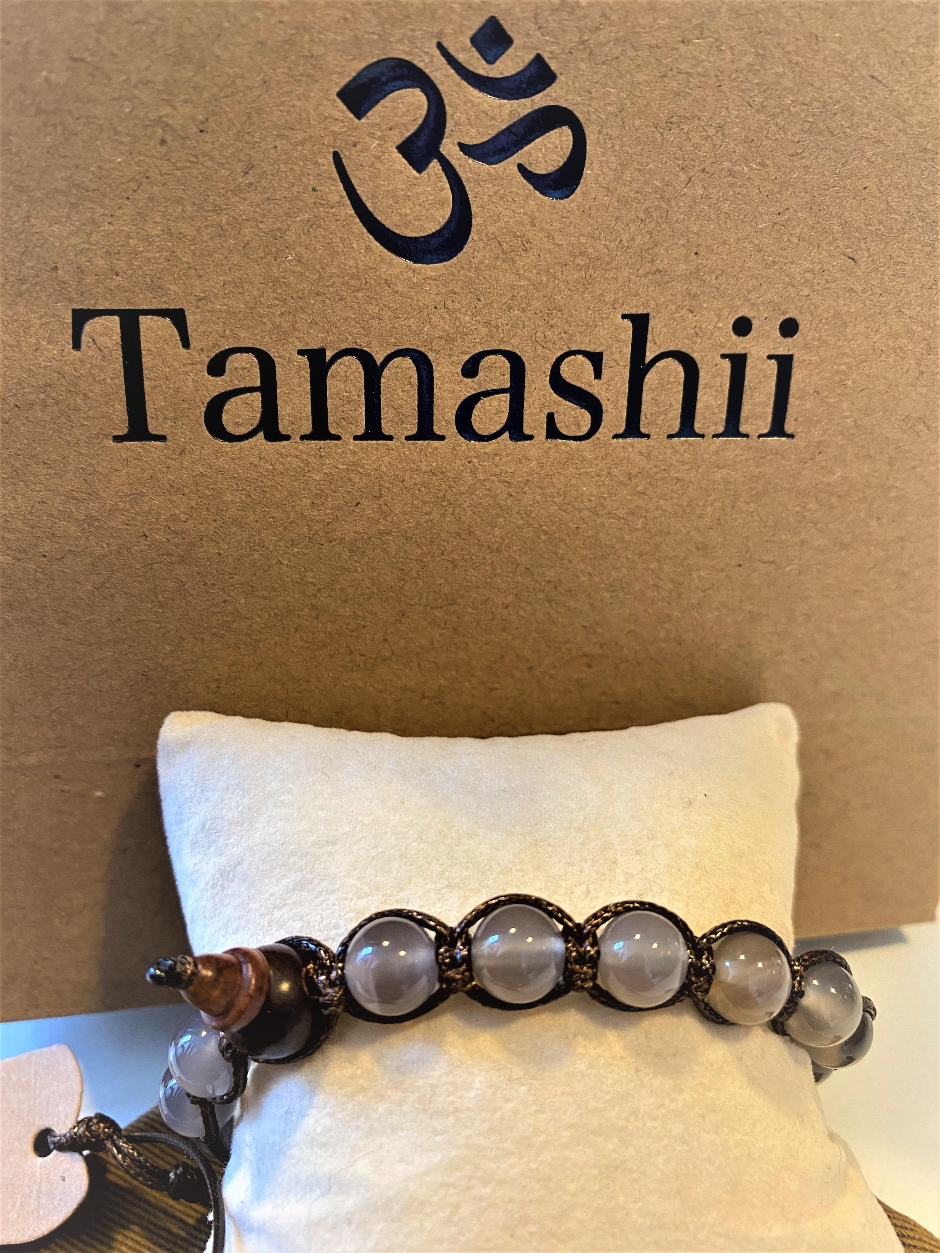 Bracciale Tamashii con Agata ghiaccio