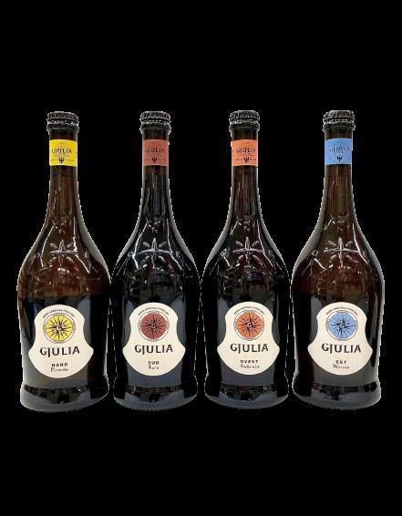 Birra Gjulia - Birra Agricola Friulana conf. x 6 bott. cl. 75