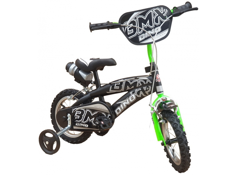 BICI 12 BMX NERO VERDE