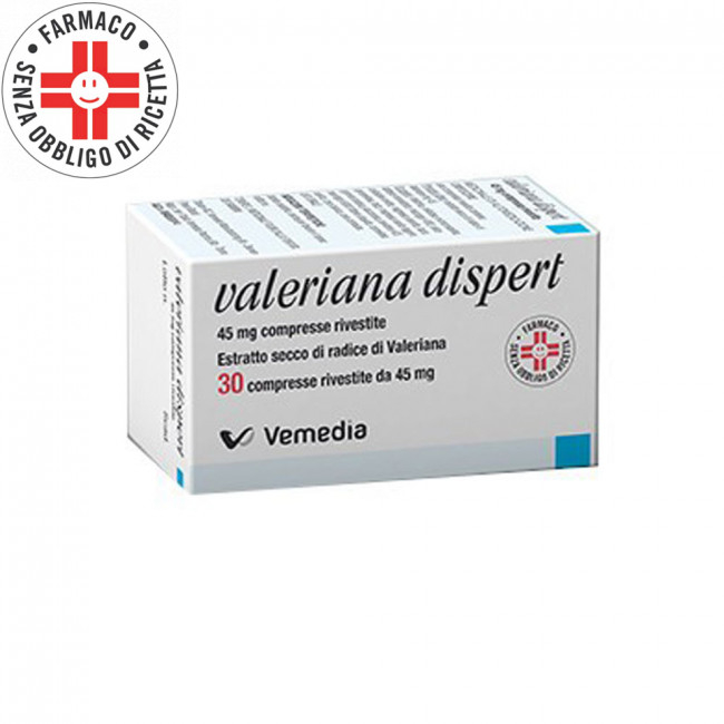 Valeriana dispert 30 compresse da 45mg