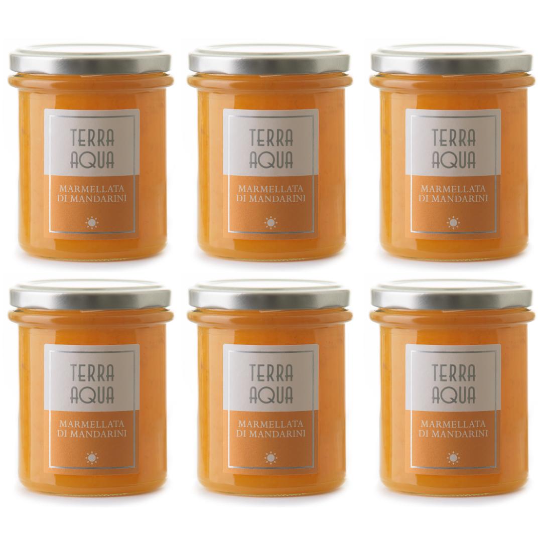 |Speciale Famiglia| 6 Vasi di Marmellata di Mandarini Avana  | Peso netto 1440g|