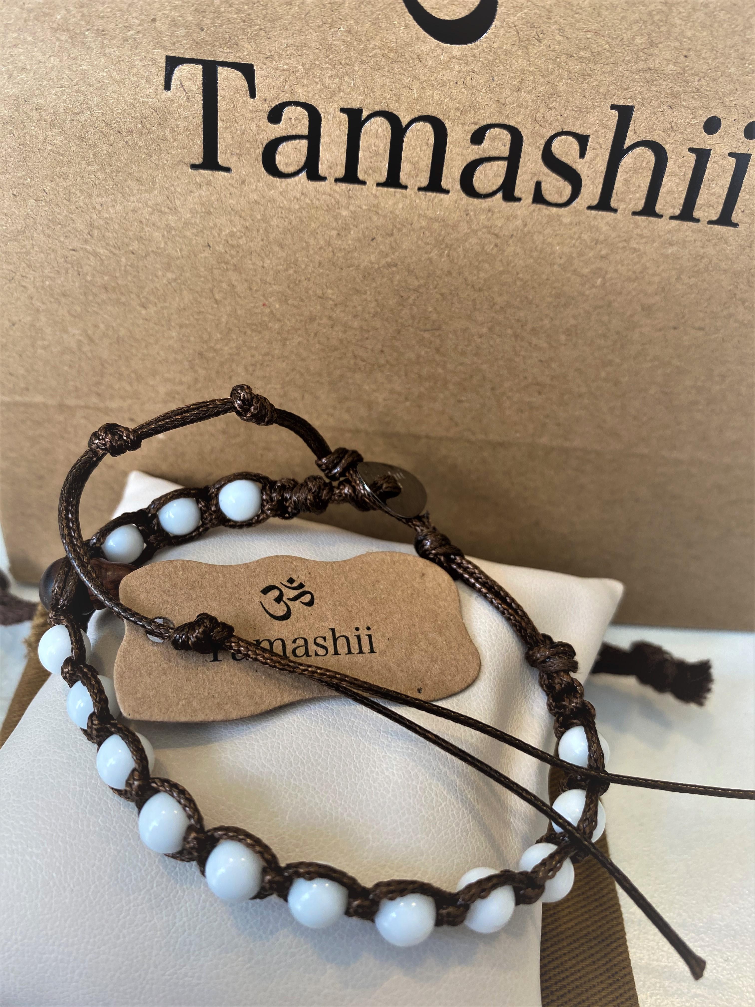 Bracciale Tamashii con Agata bianca