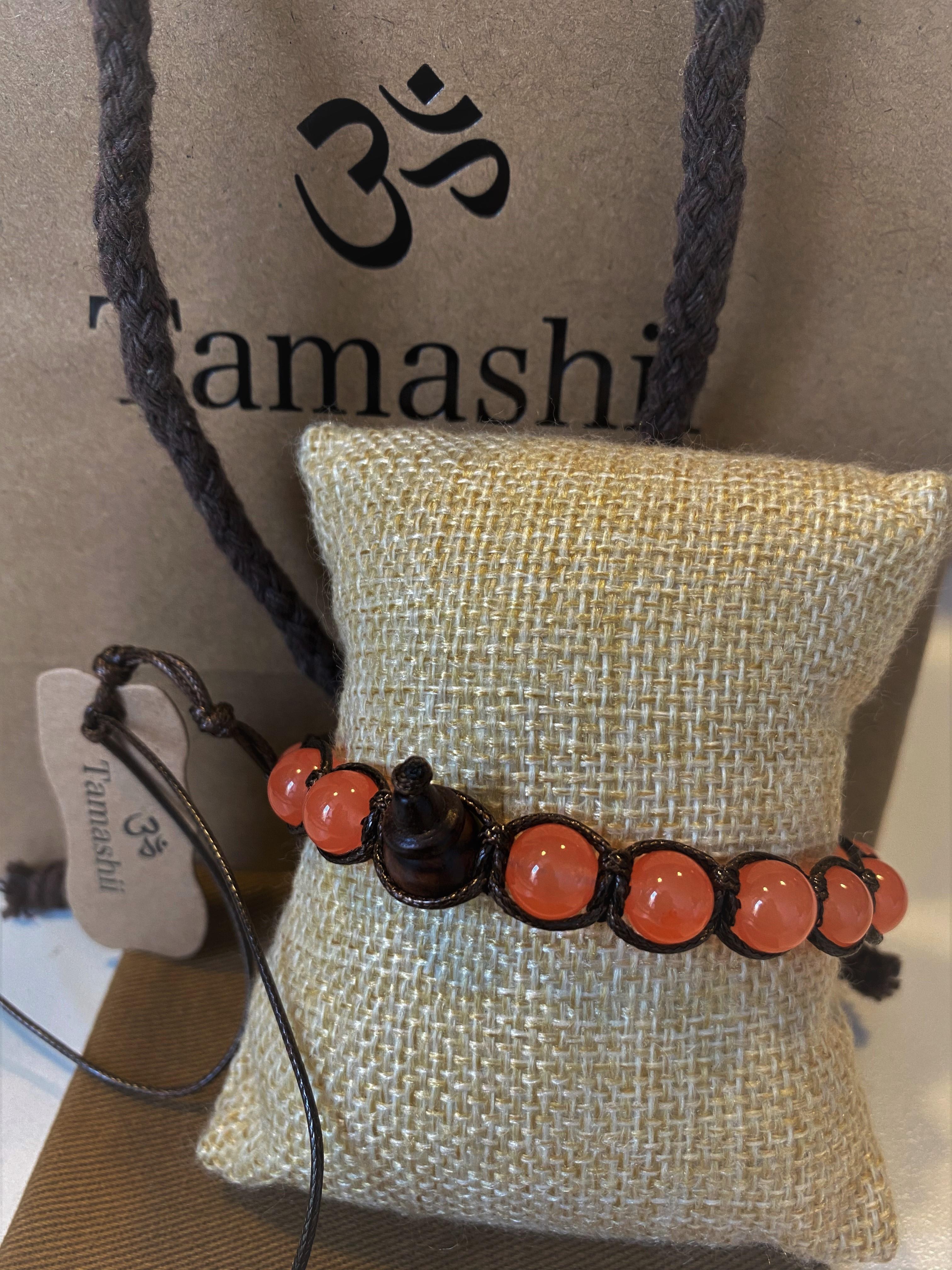 Bracciale Tamashii con Giada Pesca