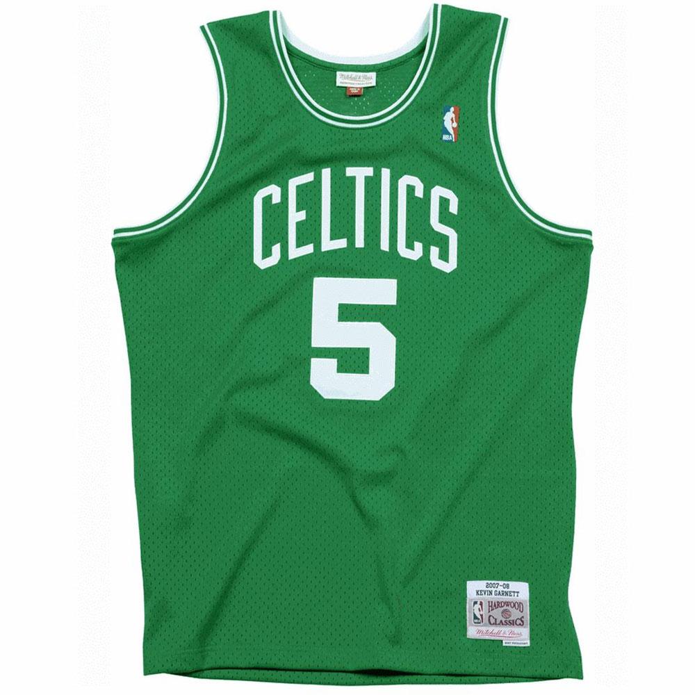 Mitchell e Ness Canotta Nba Celtics Verde da Uomo