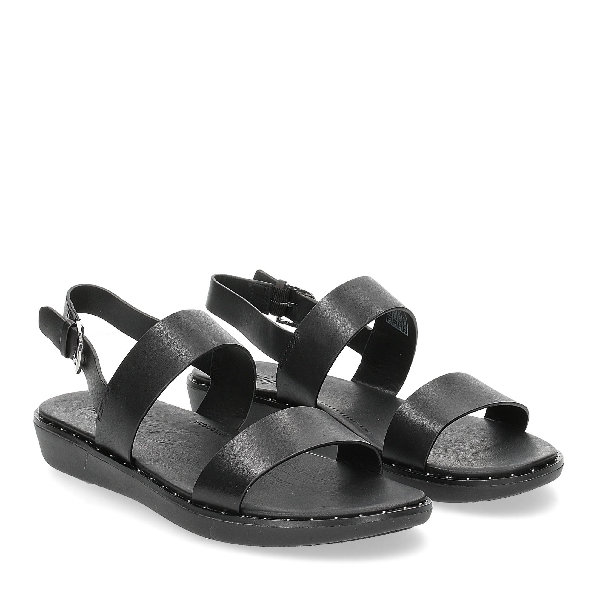 Fitflop back strap sandals Barra black