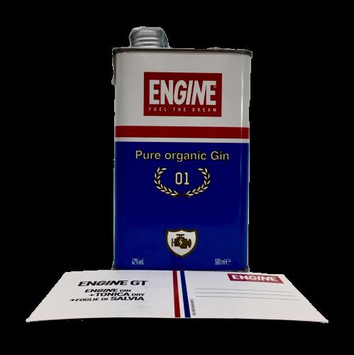 Gin Engine Pure Organic 0,5 lt. - Italia