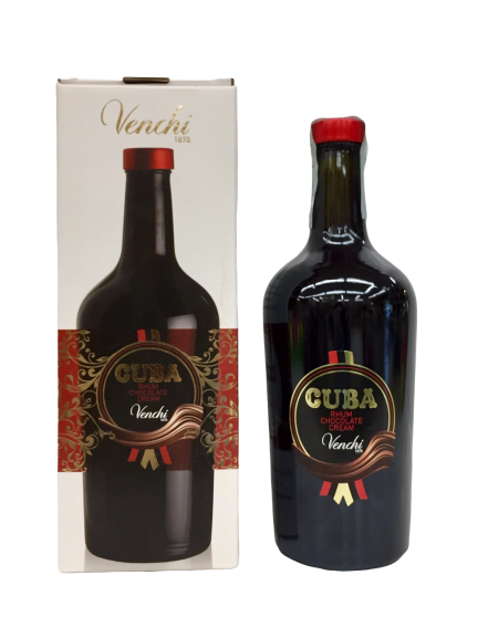 Liquore Cuba Rhum Chocolate Cream- Venchi S.p.A.- (CN)