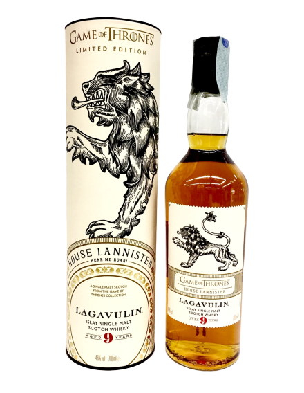 Games of Thrones : Whisky Lagavulin 9 anni Serie limitata