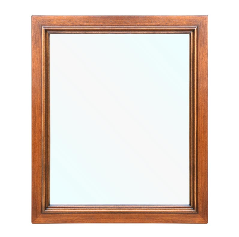Classic solid wood mirror