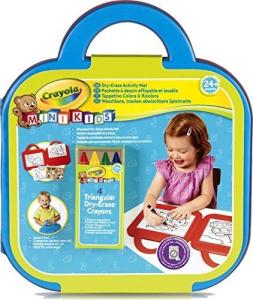 Crayola Washable Color & Erase Set – Tappetino Colora & Ricolora