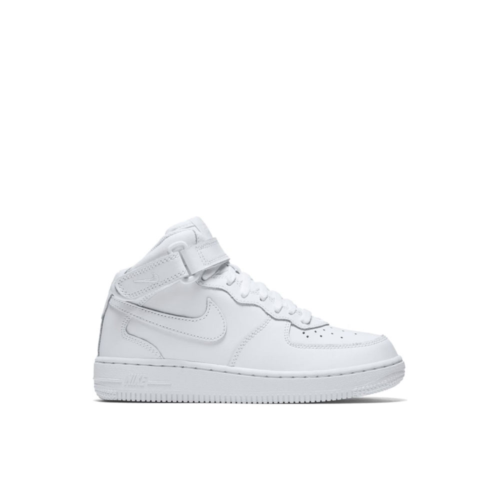 Nike Air Force 1 Mid Bianca da Bambino