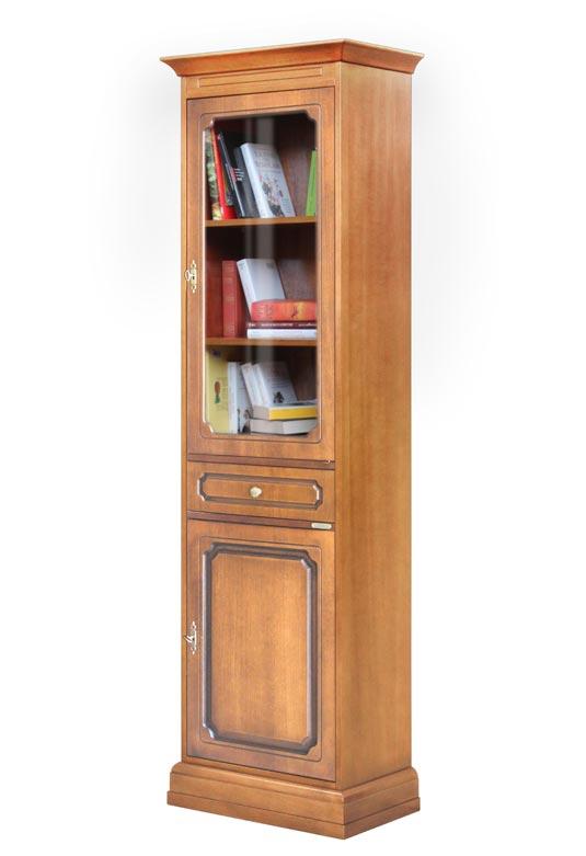 Vetrina colonna in stile classico 2 ante
