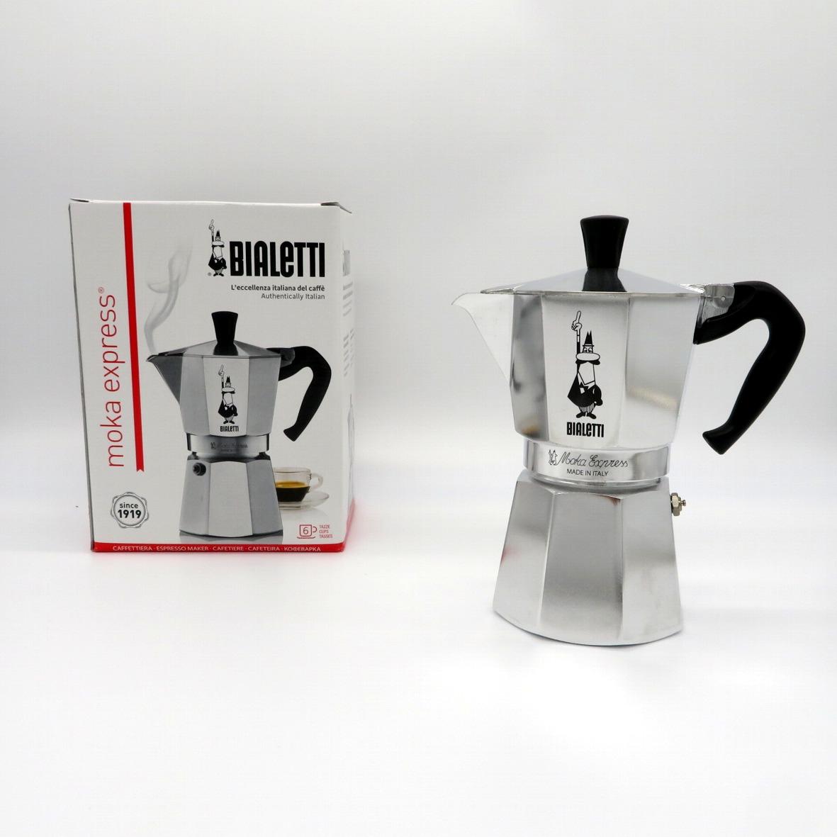 Caffettiera in alluminio da 6 tazze Bialetti