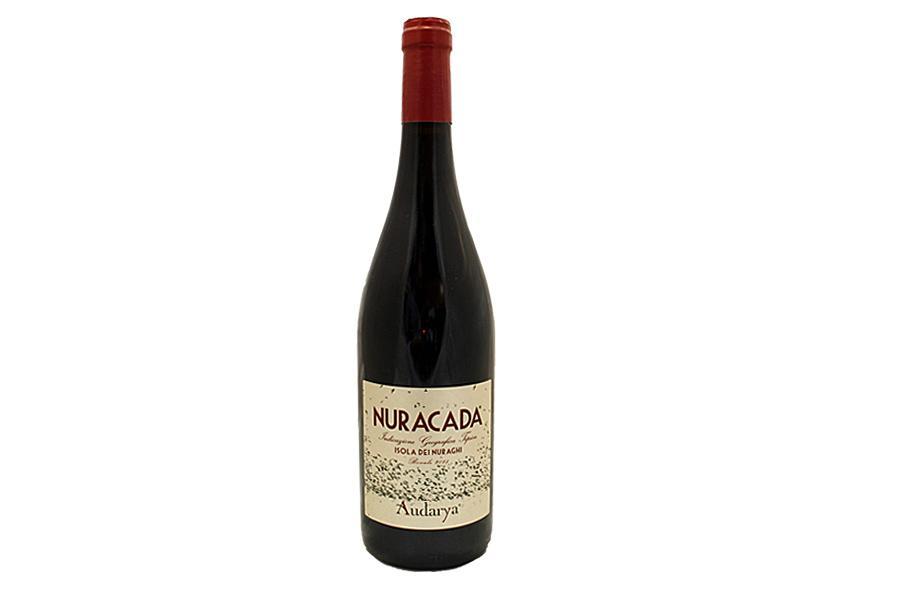 Vino Rosso sardo Nuracada Isola dei Nuraghi IGT Bovale 2018 - Audarya