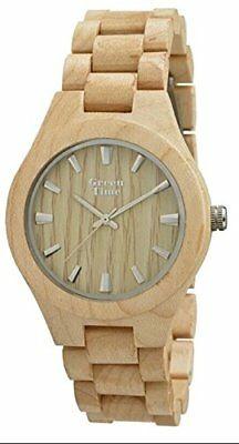 Orologio uomo in legno ulivo Green Time ZW065A
