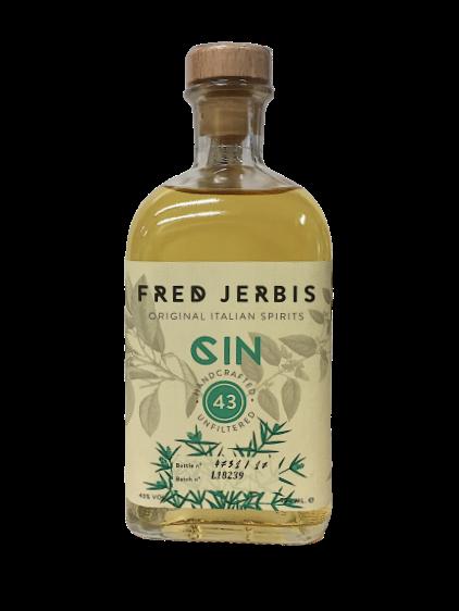 Gin Fred Jerbis 43 cl. 70 - Original Italian Spirits- Friuli V.G.