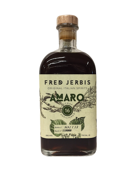 Amaro 16 Fred Jerbis cl. 70 - Original Italian Spirits- Friuli V.G.