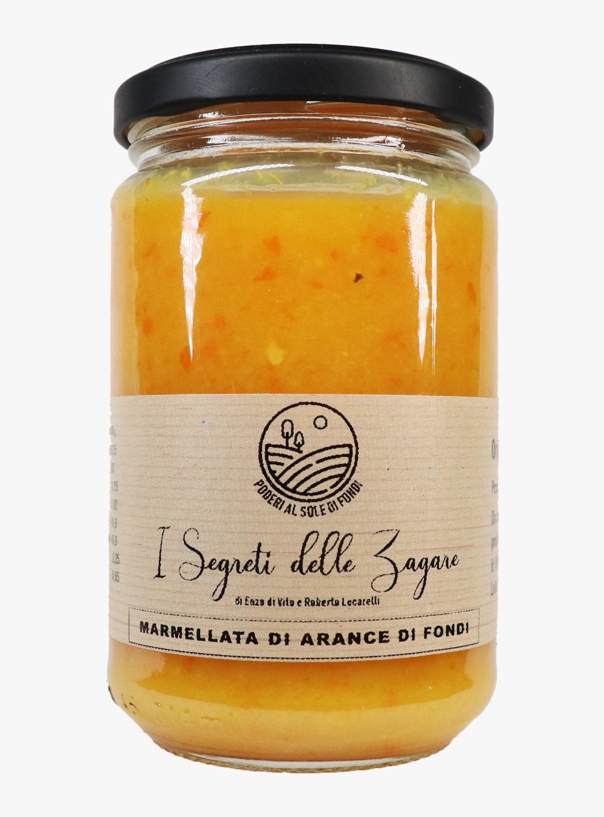 Marmellata di arance di Fondi I segreti delle zagare - Confezioni da 100 gr e 300 gr