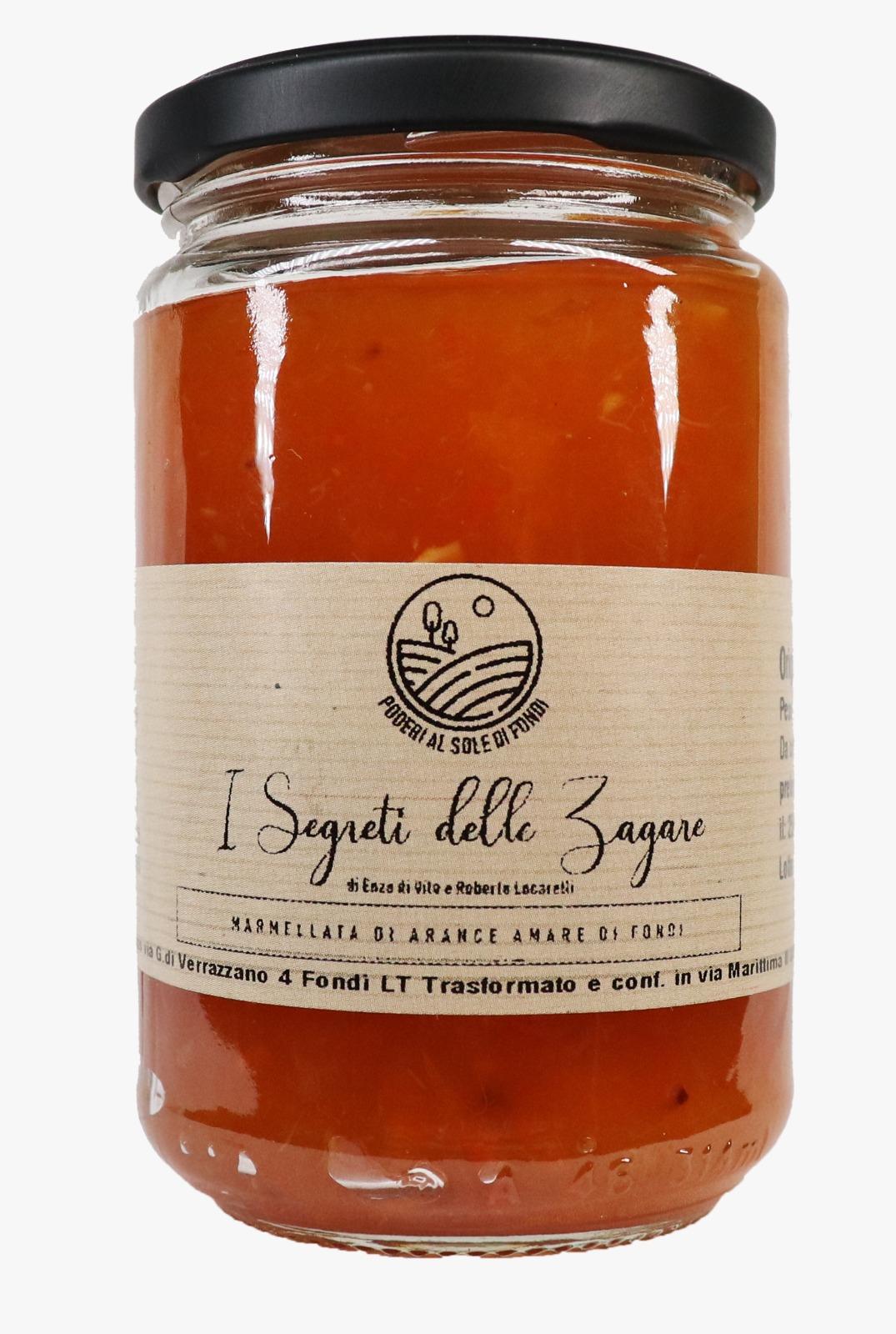 Marmellata di arance amare di Fondi I segreti delle zagare - Confezioni da 100 gr e 300 gr