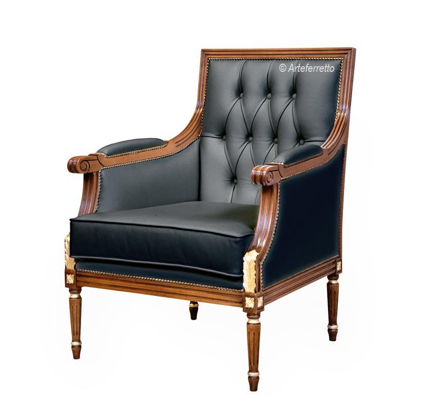 Klassischer Sessel 'Plus'